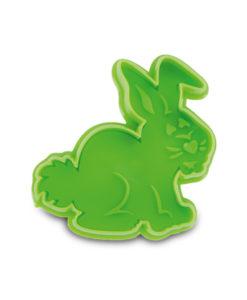 Ausstecher - Hase, grün