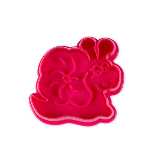 Ausstecher - Schnecke, pink