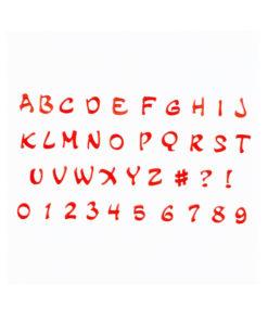 Ausstecher Set - Magical Alphabet & Zahlen