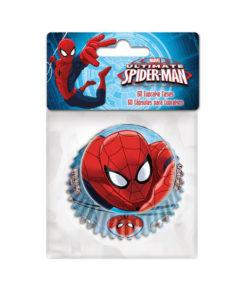 Papierbackförmchen - Spiderman