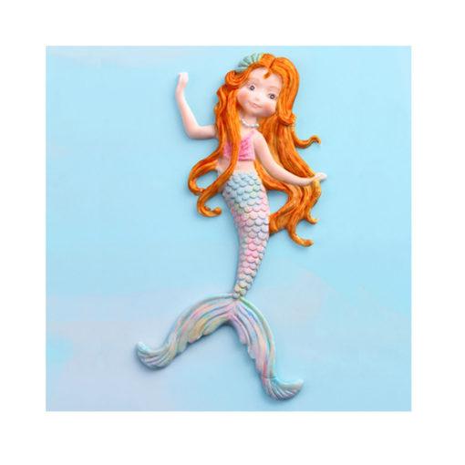 Silikonform - Meerjungfrau