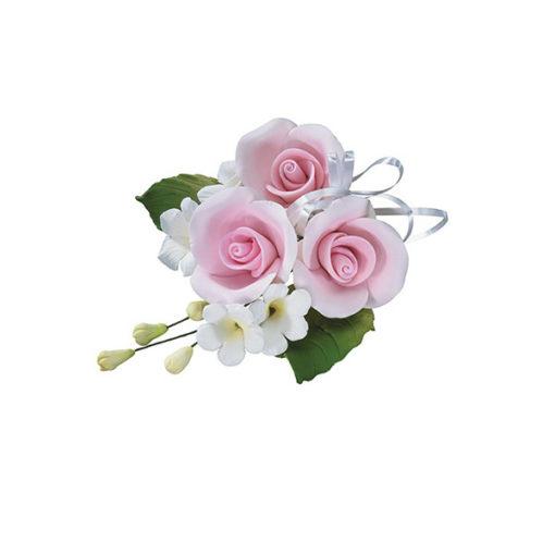Zuckerrosen Bouquet pink