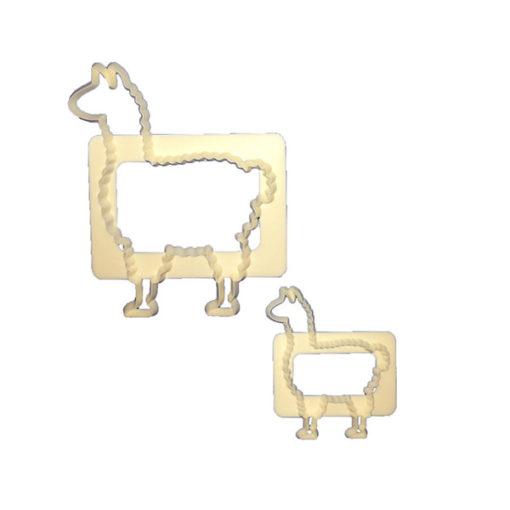Ausstecher - Lama