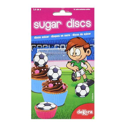 Muffinaufleger Fussball