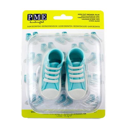 Zuckerdekor Sneaker blau