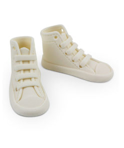 Zuckerdekor Sneaker weiss