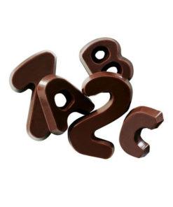 Callebaut Schockoladen Buchstaben