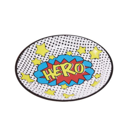 Pappteller Superhero
