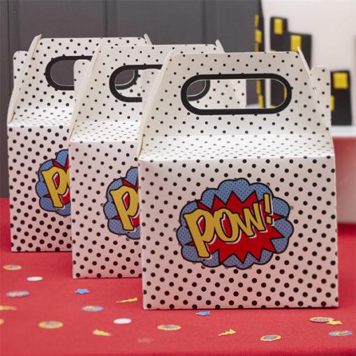 Geschenkbox Superhero