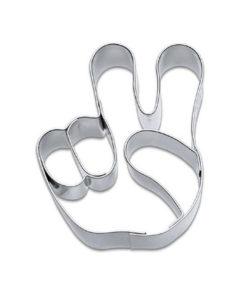 Ausstecher - Hand Peace