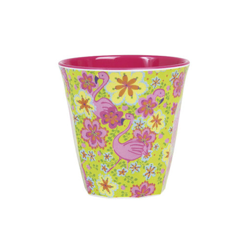 Rice Melamin Becher Flamingo