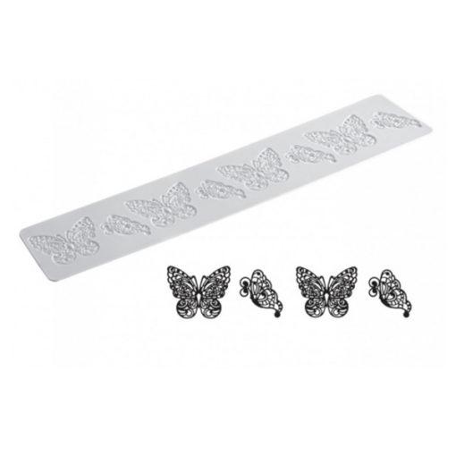 Silikonmatte Essbare Spitze Schmetterlinge