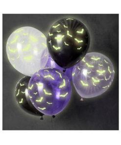 Ballon Halloween - leuchtet im dunkeln
