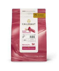 Callebaut belgische Schokolade, ruby