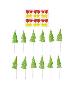 Wilton Deko-Sticks Weihnachtsbaum