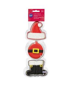 Ausstecher Set - Weihnachtsmann von Wilton
