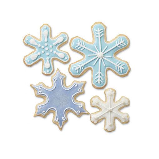 Ausstecher Set - Schneeflocken von Wilton