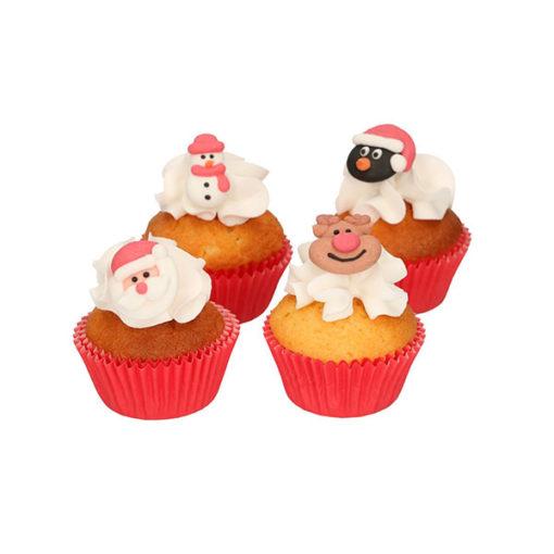 Zuckerdekor - Weihnachtsfiguren