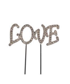 Cake Topper Diamant Love