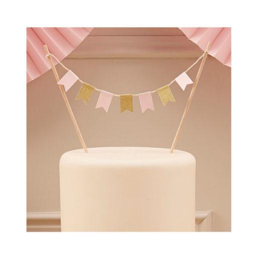 Cake Topper Pastel BuntingCake Topper Pastel Bunting