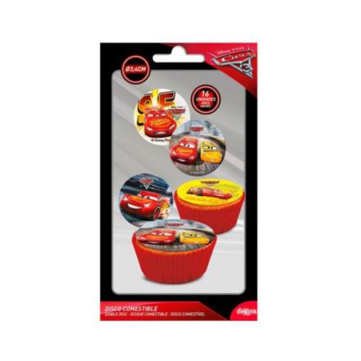Muffinaufleger Cars