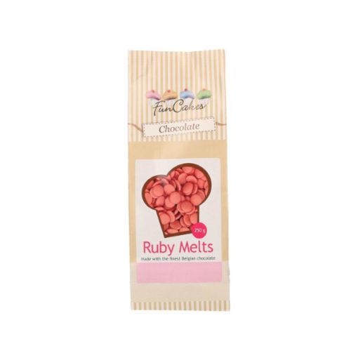 FunCakes Candy Melts - Schokolade Ruby
