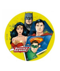 Tortenaufleger Justice League