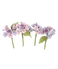Mini Rosen Blumen Bouquet Lila