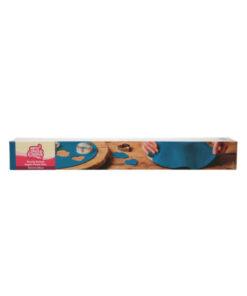 Fondantdecke blau (dunkel) (36cm)