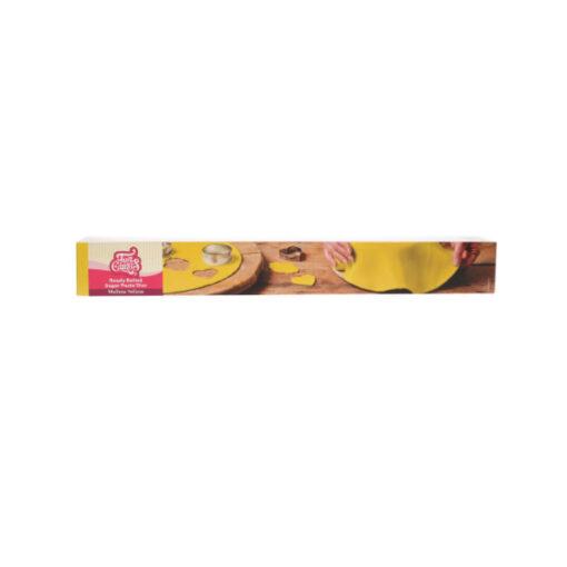 Fondantdecke gelb (36cm)