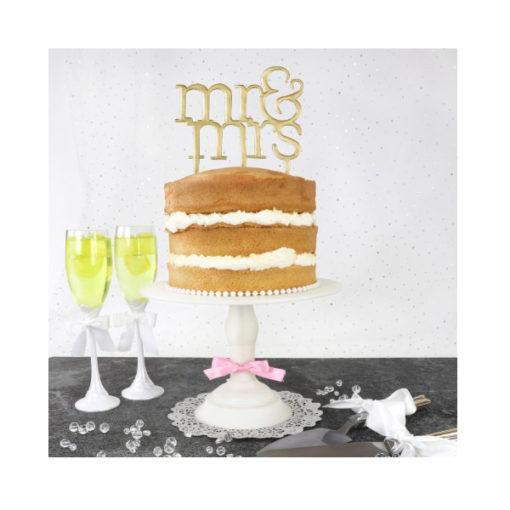 Cake Topper Ausstecher - Mr & Mrs Modern