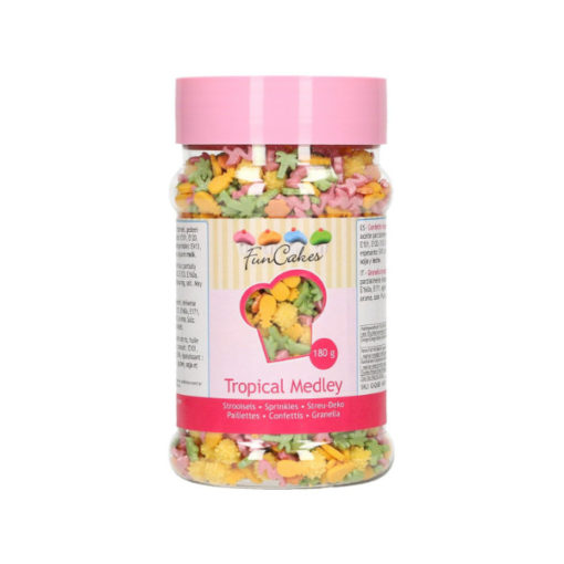 FunCakes Streusel Tropical Mix 180g