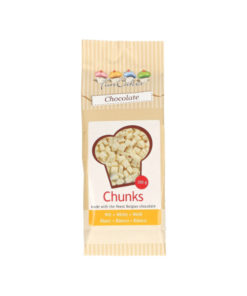 FunCakes Chunks - Schokolade (weiss)