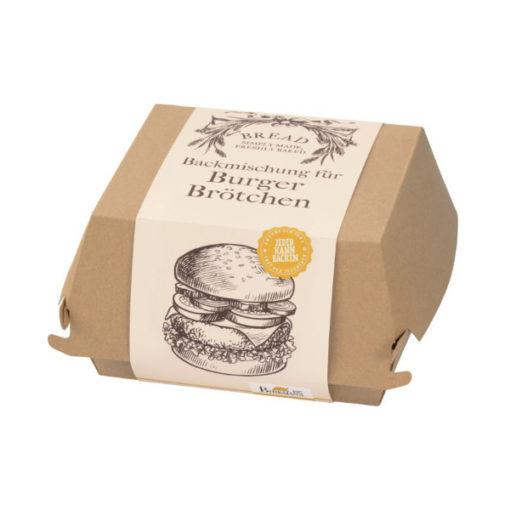Backmischung Burger Box - Burger Brötchen