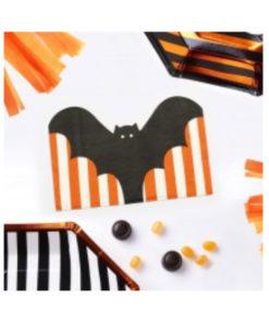 Servietten Halloween - Fledermaus