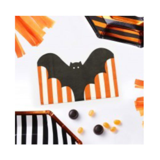 Servietten Halloween - Fledermaus