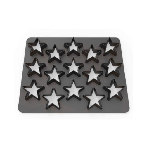 Ausstecher - Dekofee Polycutter Sterne