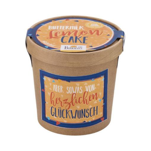 "Backmischung ""herzlichen Glückwunsch""- Buttermilch Lemon Cake"