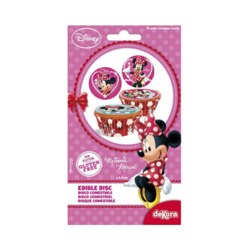 Muffinaufleger Minnie Mouse