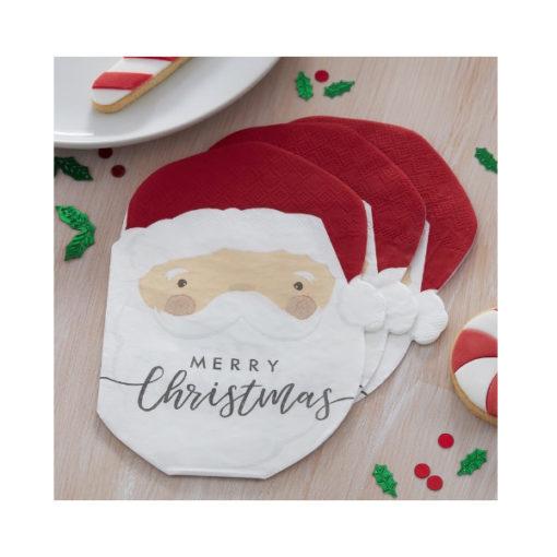 Servietten - Santa