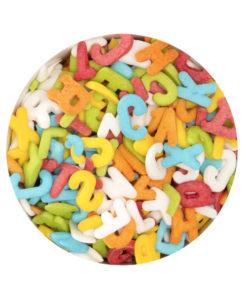 Streudekor - Buchstabenmix