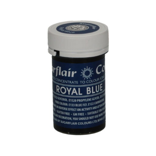 Lebensmittelfarbe Paste Blau - Royal Blue