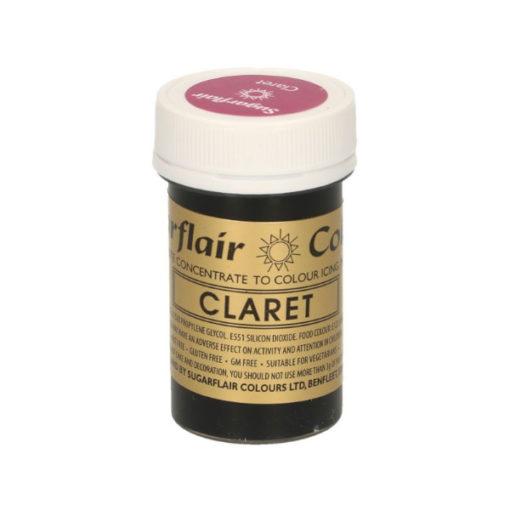 Lebensmittelfarbe Paste Weinrot - Claret