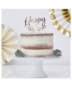 Cake Topper Happy Pushing