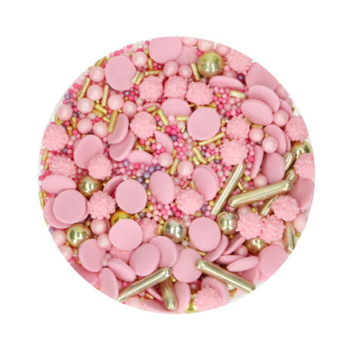 FunCakes Streusel Glamour pink 50g
