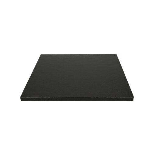 Tortenplatte - quadratisch (30cm) schwarz