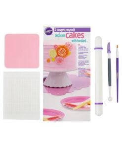 Wilton I Taught Myself® Fondant Cakes