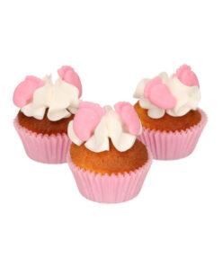 Zuckerdekor - Baby Füsse rosa