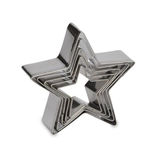 Ausstecher Set - Sterne, 5-teilig
