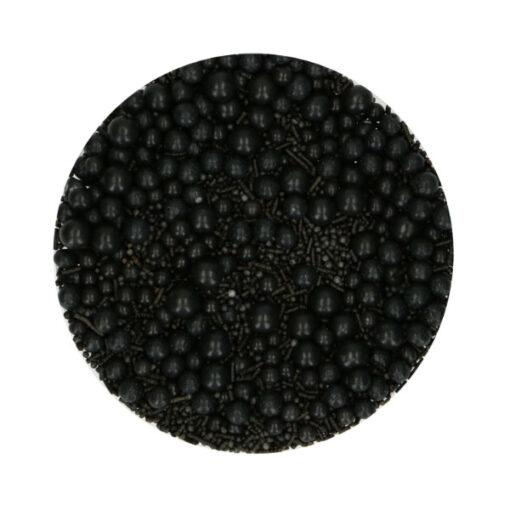 FunCakes Streusel schwarz Mix 65g